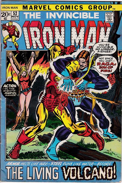 Iron Man 52 Raga Son of Fire