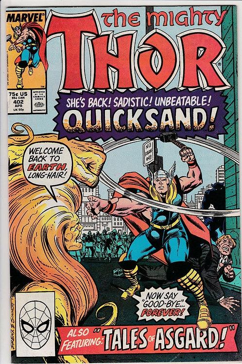 THOR 402 Apr 89 Even an Asgardian Can Die