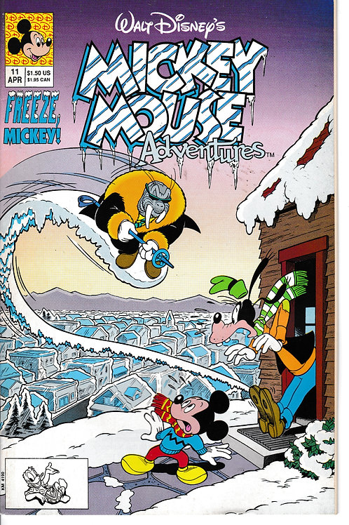 MICKEY MOUSE ADVENTURES 11 Apr 91 Mystery Weaponeer Saga
