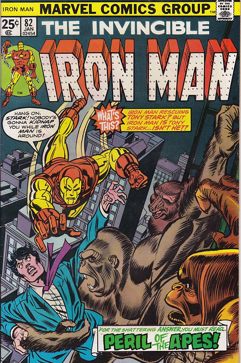 Iron Man 82 Red Ghost Appearance