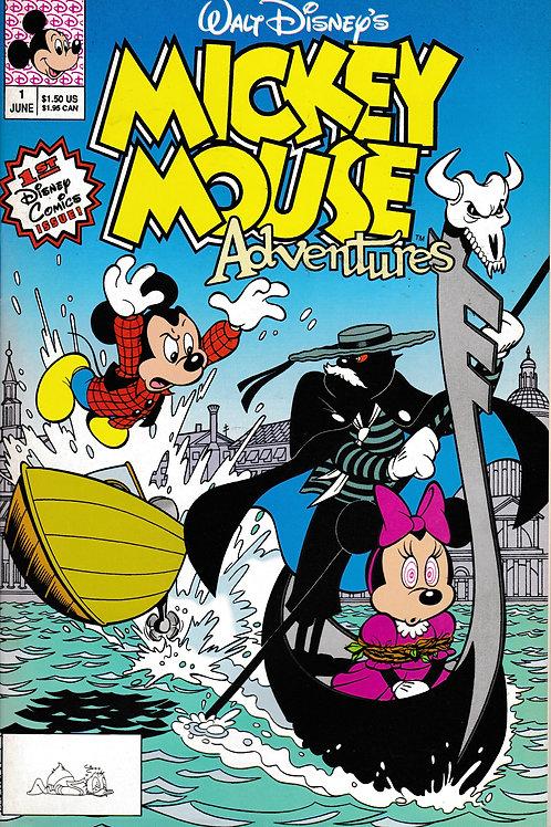 MICKEY MOUSE ADVENTURES 1 Jun 90 Walt Disney's