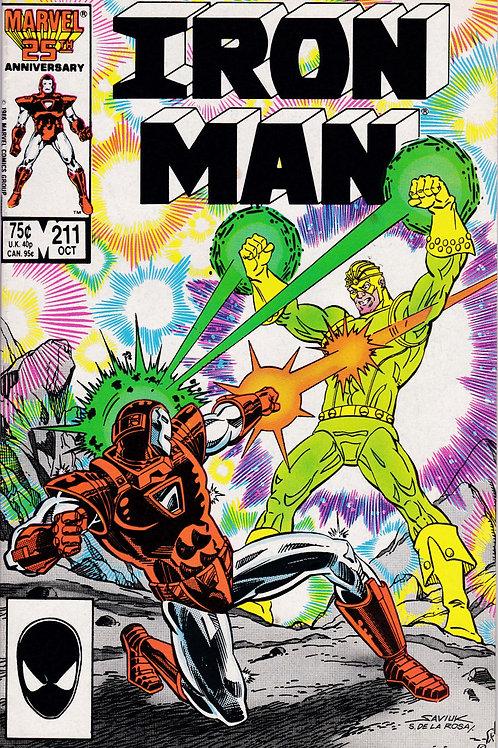 Iron Man 211 Verses the Melter