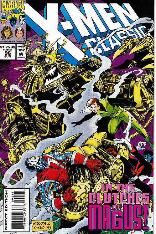 X-Men Classic 96 Jun 94 Chris Claremont Wolvie and Kitty return from Japan