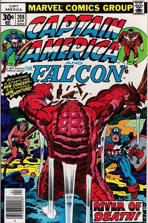 Captain America 208 1st Armin Zola Jack Kirby Art