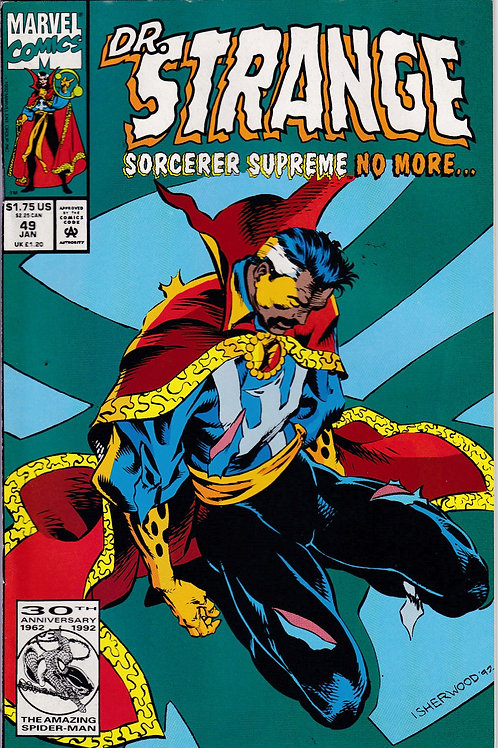 DOCTOR STRANGE SORCERER SUPREME 49 Marvel Jan 93