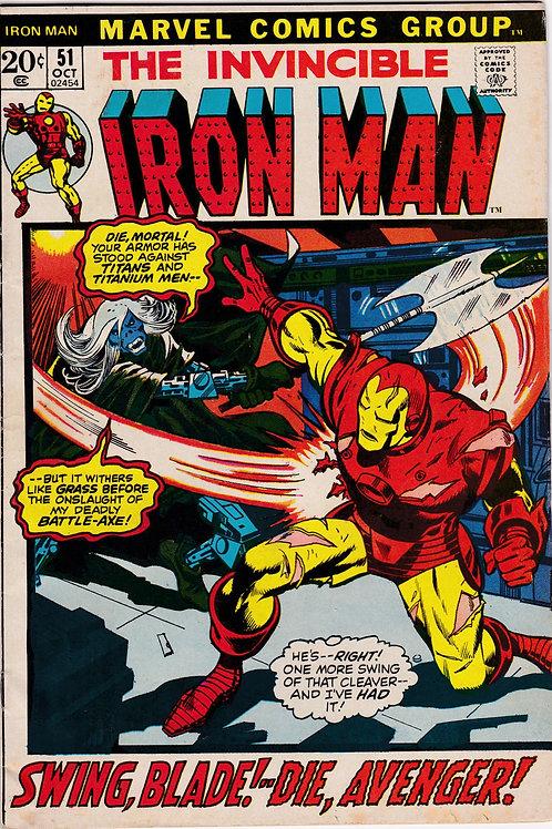 Iron Man 51 Cyborg-Sinister Attacks Stark
