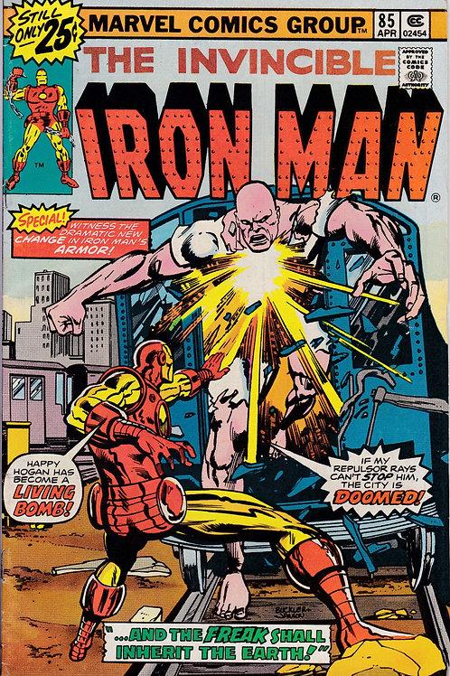 IRON MAN 85 Battles with Freak