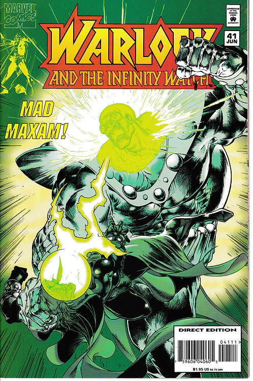 WARLOCK AND THE INFINITY WATCH 41 Jun 95 Origin Maxam Gamora joins Thanos