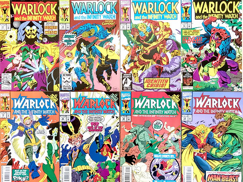 WARLOCK & THE INFINITY WATCH Never Read CHOOSE ONE 11 14 15 18 20 22 28