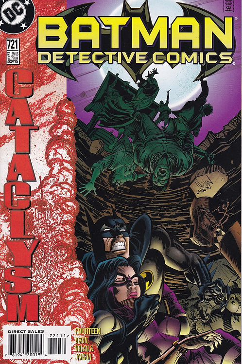 DETECTIVE 721 DC May 98 Cataclysm Part 14
