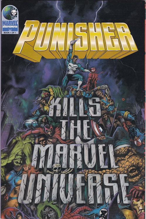 PUNISHER KILLS THE MARVEL UNIVERSE TPB November 1995 1st Printing N/M NOS