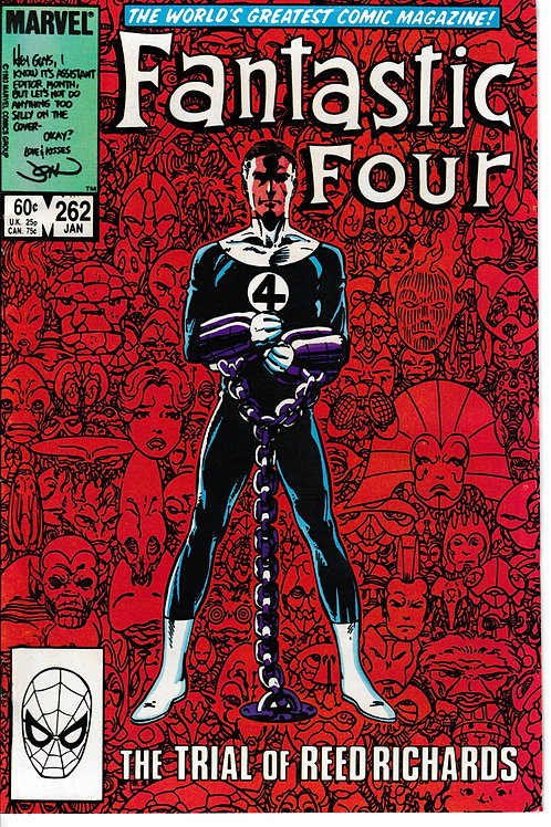 FANTASTIC FOUR 262 Jan 84 Story & Art John Byrne Origin of Galactus