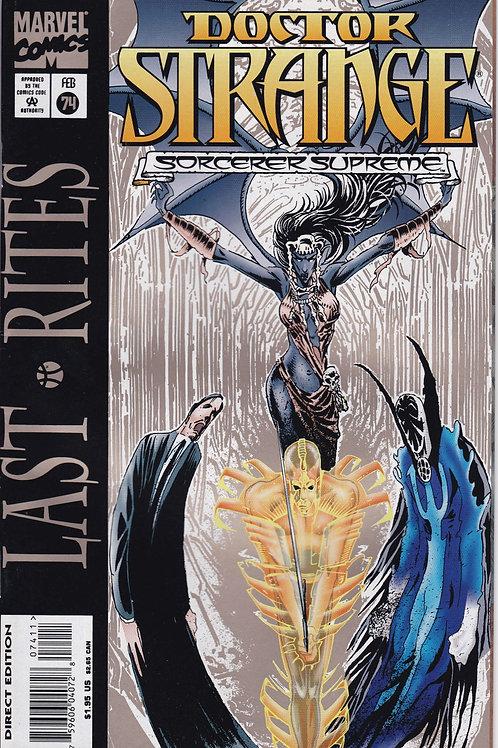 DOCTOR STRANGE SORCERER SUPREME 74 Marvel Feb 95