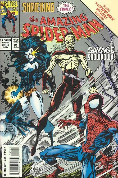 AMAZING SPIDER-MAN 393 Sep 94 Shrieking Part 4