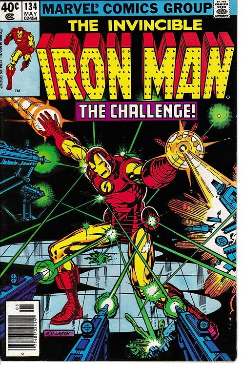 IRON MAN 134 May 80 Cameo appearance Rodney Dangerfield