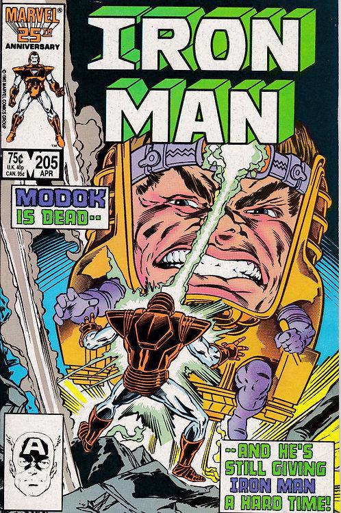 Iron Man 205 MODOK Returns