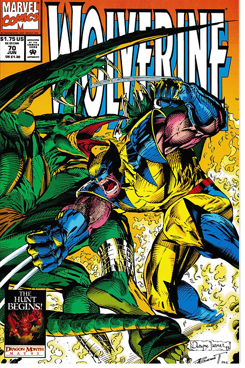 WOLVERINE 70 Jun 93 Pt 2 of 3 Tooth & Nail Guest-stars Jubilee & Rogue