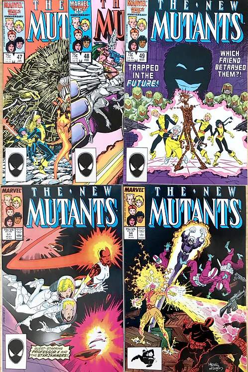 NEW MUTANTS 1980's CHOOSE ONE 47 49  54 Or More