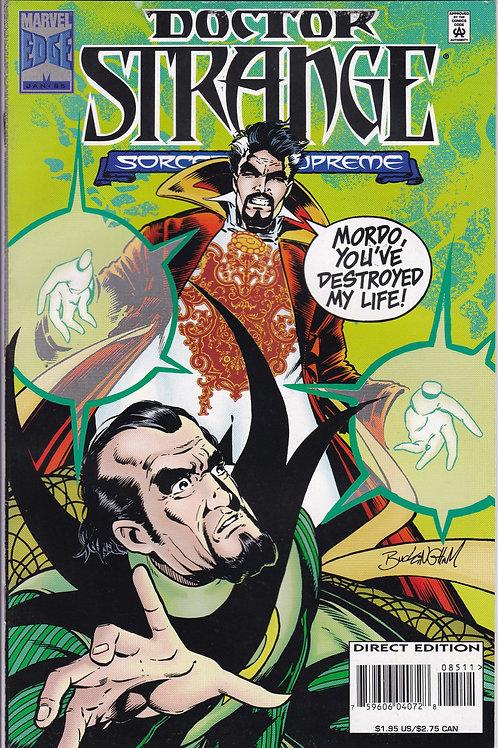 DOCTOR STRANGE SORCERER SUPREME 85 Marvel Jan 96 Baron Mordo Dying