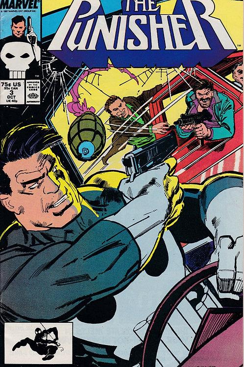 PUNISHER 3 Vol 2 Oct 87 Series Marvel