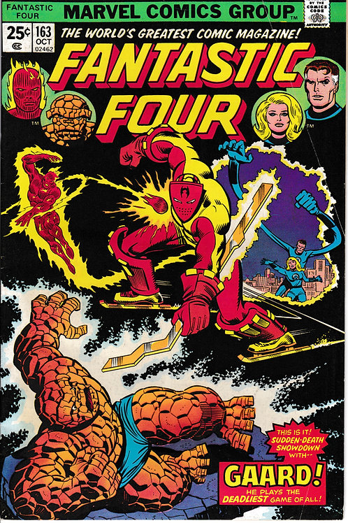 FANTASTIC FOUR 163 Oct 75 Marvel Vol 1 Arkon Appearance