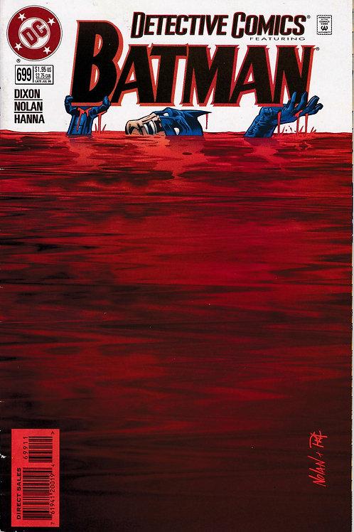 DETECTIVE 699 DC Jul 96 The Chain starring Batman as Matches Malone
