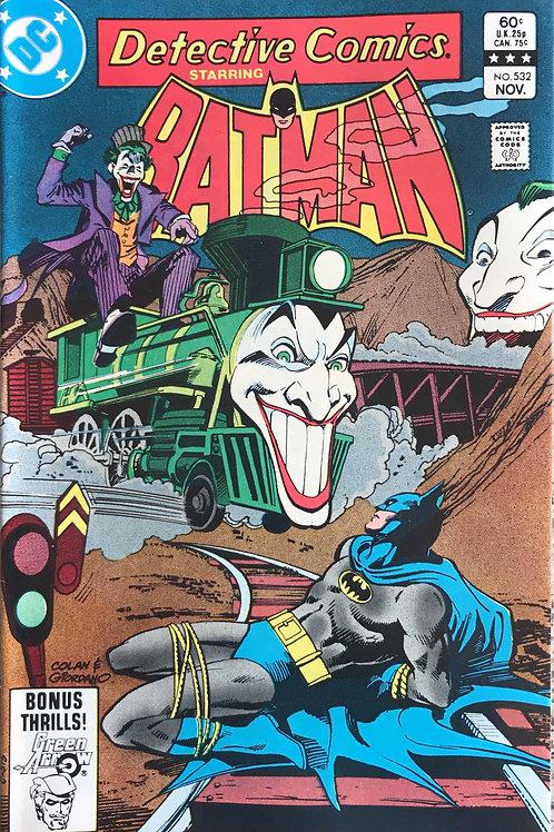 DETECTIVE  532 Nov 83 N/M- Joker Train