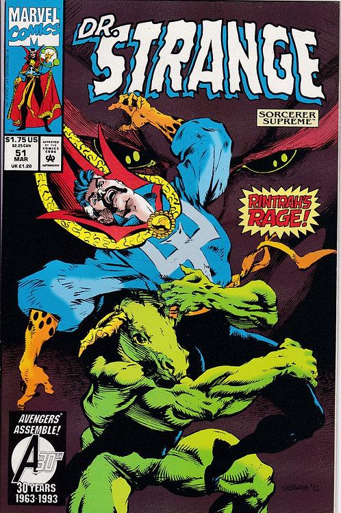 DOCTOR STRANGE SORCERER SUPREME 51 Marvel Mar 93