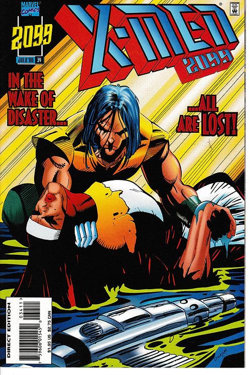X-MEN 2099 Vol 1 34  Atlantis on the Warpath