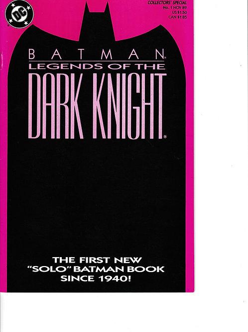 BATMAN LEGENDS OF THE DARK KNIGHT 1 Nov 89 DC