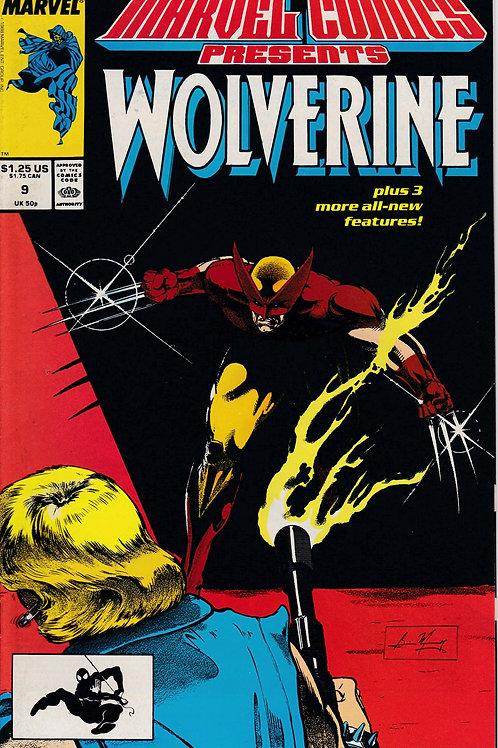 Marvel Comics Presents Wolverine 9 Claremont Scripts