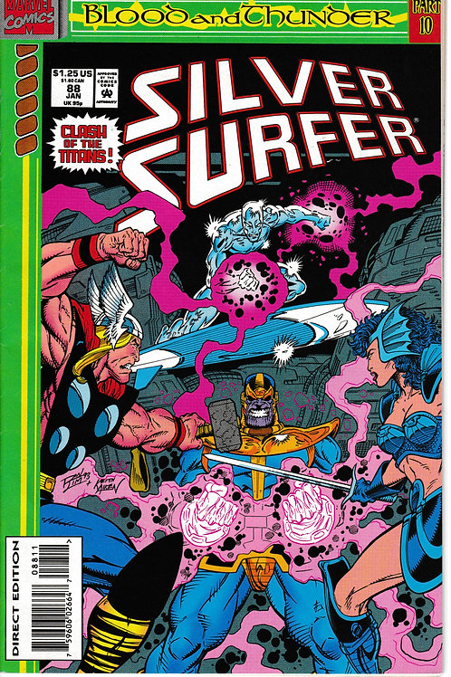 SILVER SURFER 88 Marvel Vol 3 Jan 94 Blood & Thunder Part 10