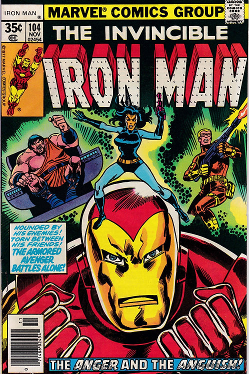 Iron Man 104 Guest Stars Jack of Hearts