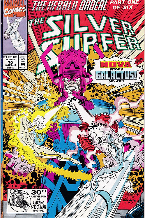 Silver Surfer 70  Galactus 1st App Morg becomes New Herald