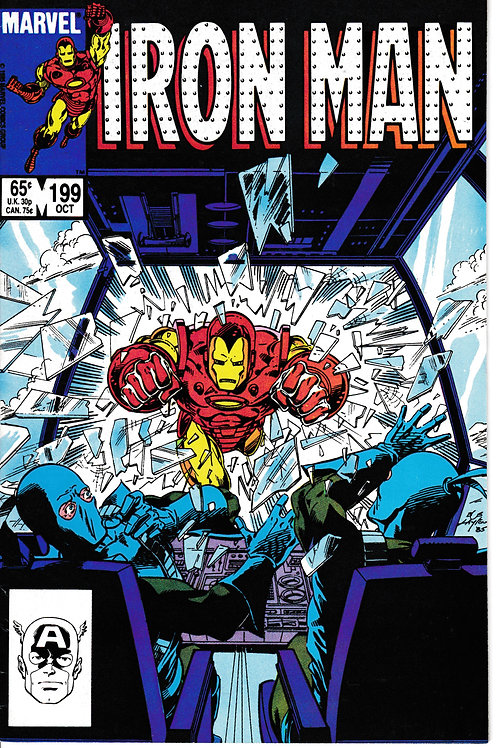 IRON MAN 199 Oct 85 And One of Them Must Die