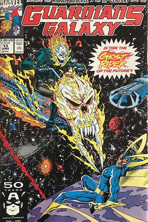 GUARDIANS OF THE GALAXY 13 Marvel Vol 1 Jun 91 1st App Spirit of Vengeance