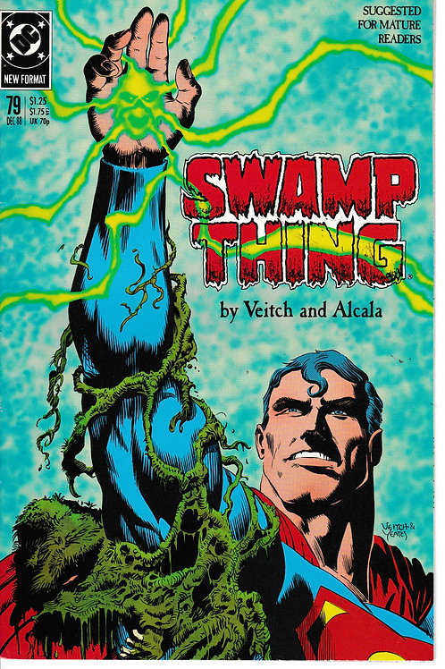 SWAMP THING 79 DC Dec 88 Revenge on Lex Luthor.