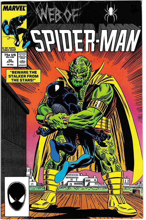 Web of Spider-Man 25