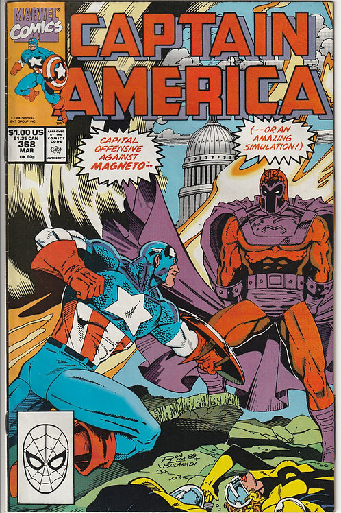 CAPTAIN AMERICA 370 May 90 House Calls