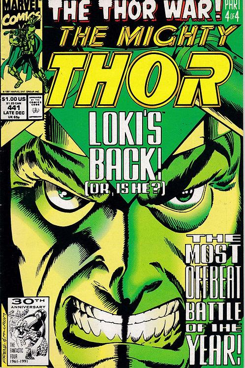 THOR 441 Dec 91 Thor War part 4 of 4