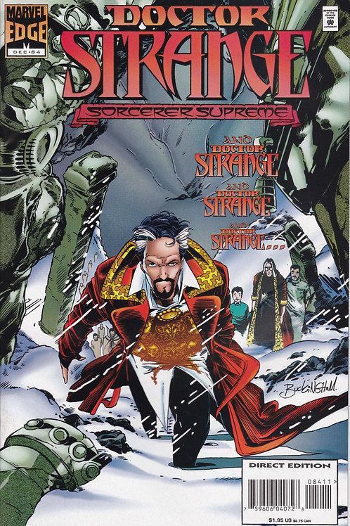 DOCTOR STRANGE SORCERER SUPREME 84 Marvel Dec 95  Baron Mordo