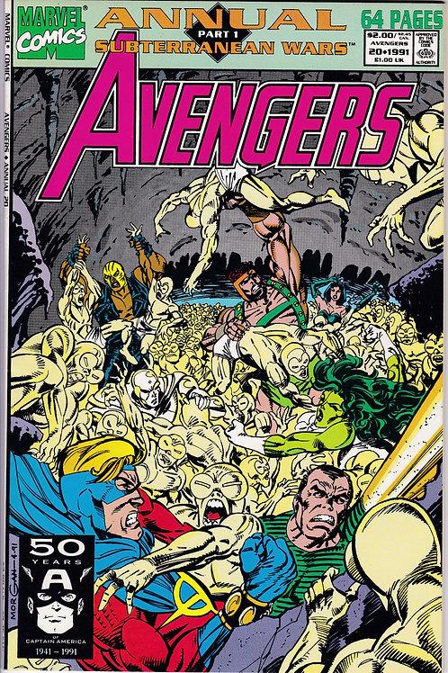 AVENGERS ANNUAL 20 Marvel Vol 1 1991