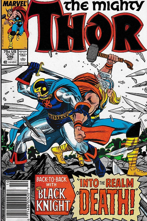 THOR 396 Oct 88 Appearance Black Knight