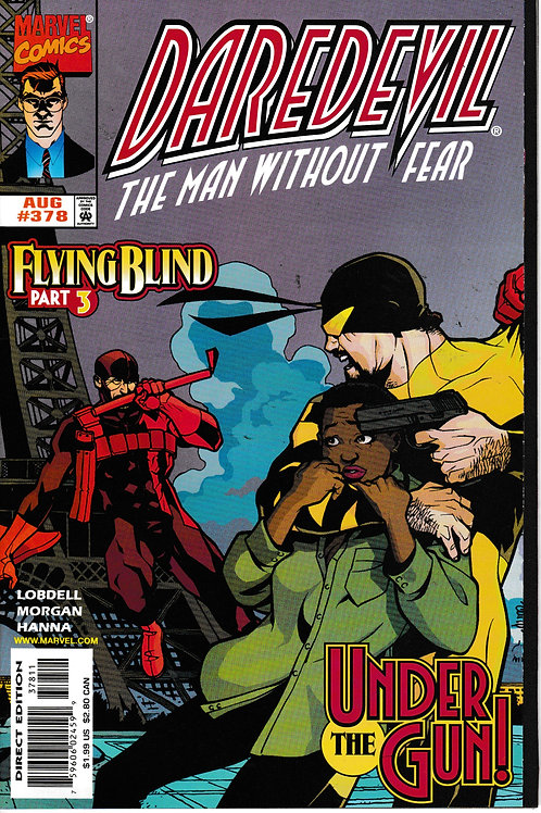 DAREDEVIL 378 Aug 98 NM Flying Blind Part 3
