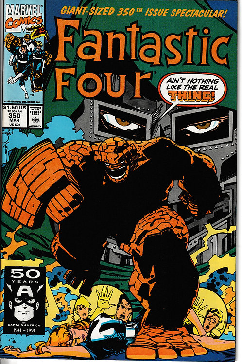 FANTASTIC FOUR 350 Mar 91 Giant Sized Issue