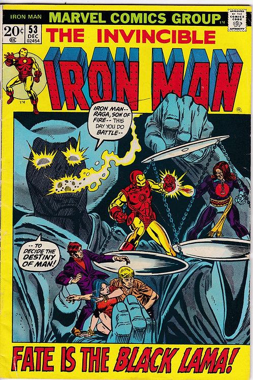 Iron Man 53 1st App Black Lama