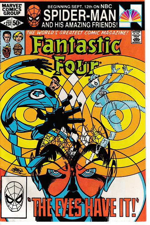 FANTASTIC FOUR 237 Dec 81 John Byrne Story Art & Cover
