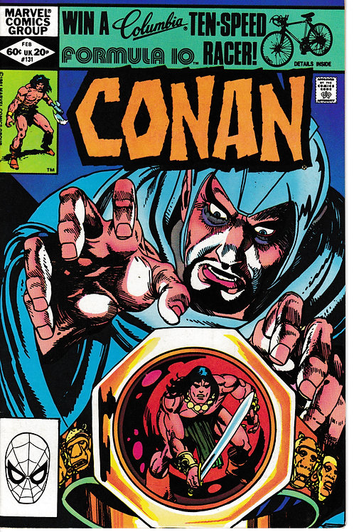 CONAN THE BARBARIAN 131 Feb 82 Marvel Bruce Jones Script
