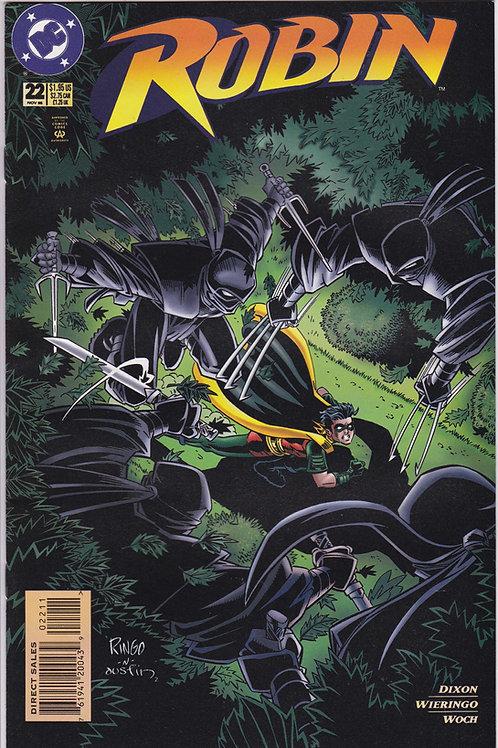 ROBIN 22 Marvel Nov 95 N/M Ninja Boot Camp