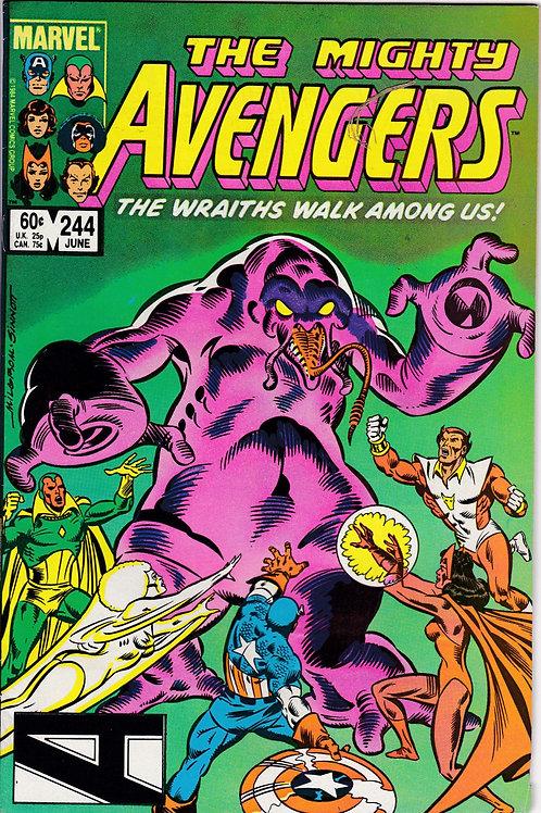Avengers 244 Vs Dire Wraiths